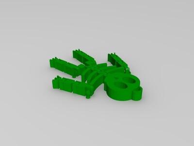 骷髅-3d打印模型
