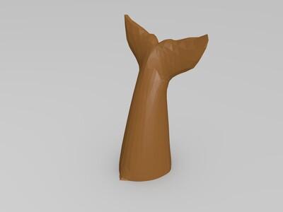 鲨鱼-3d打印模型
