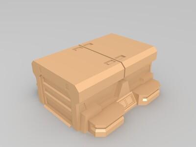 坦克工厂-3d打印模型