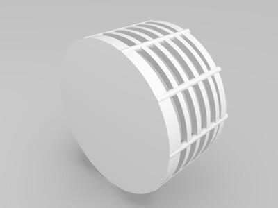 杯垫架-3d打印模型