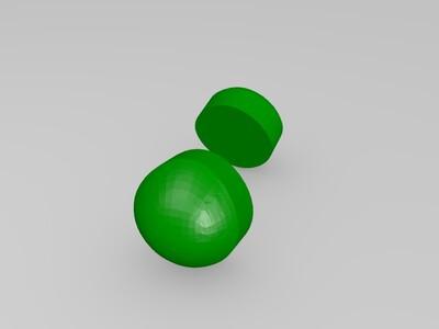 蜥蜴-3d打印模型
