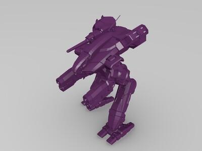虐夺者机器人-3d打印模型