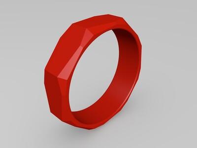 盾守护戒指-3d打印模型