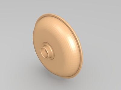 榨汁机盘-3d打印模型