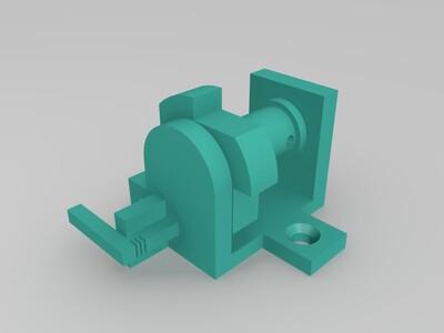 小绞车-3d打印模型