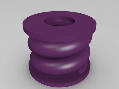 打印机底座支架减震降低噪音-3d打印模型