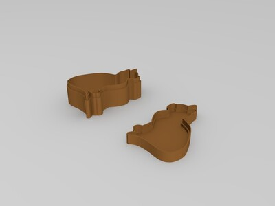 喵咪盒子-3d打印模型