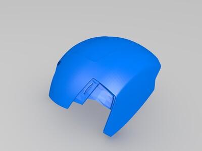 钢铁侠mk42完美头盔-3d打印模型