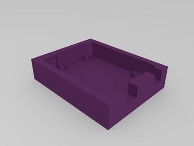 arduino保护座-3d打印模型