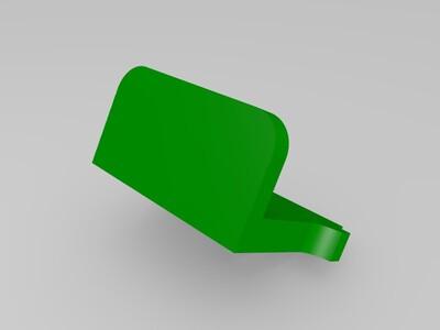 战斗机手机架-3d打印模型