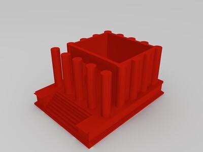 罗马神庙-3d打印模型