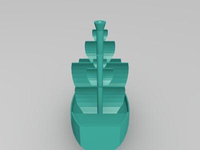 波士顿茶会纪念船-3d打印模型