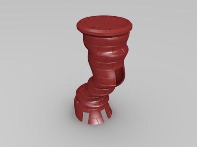 旋塔-3d打印模型