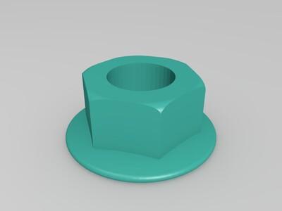 无螺纹打印测试-3d打印模型