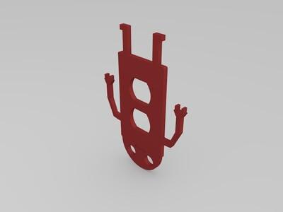 机器人插座罩-3d打印模型