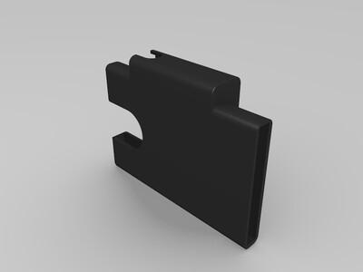 USB SD卡片夹-3d打印模型