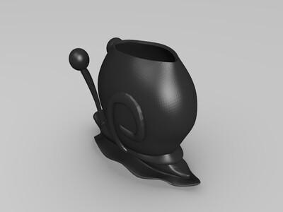 海绵宝宝 加里-3d打印模型