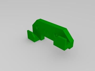 UM2卡尺支架-3d打印模型