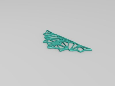项链吊坠-3d打印模型