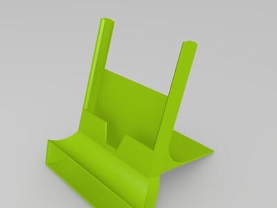 k-手机音乐底座-3d打印模型