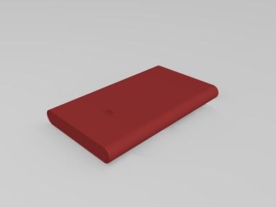 小米充电宝-3d打印模型