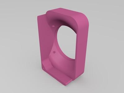 i3打印机主板驱动部分散热罩(5cm风扇使用)-3d打印模型