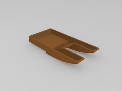 电动风动船-3d打印模型