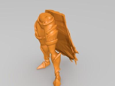 《风暴英雄》---希尔瓦娜斯-3d打印模型