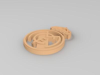 皇家马德里-3d打印模型