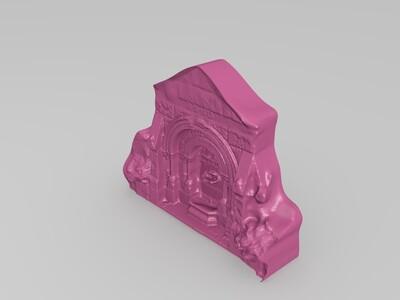 哥特式喷泉-3d打印模型