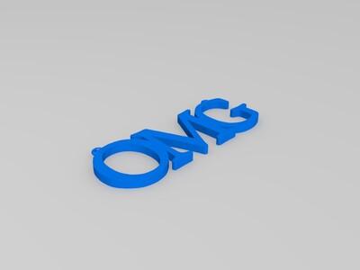 OMG挂件-3d打印模型