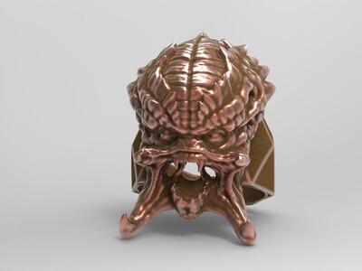 捕食者戒指-3d打印模型