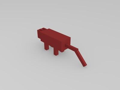 我的世界-豹猫-3d打印模型