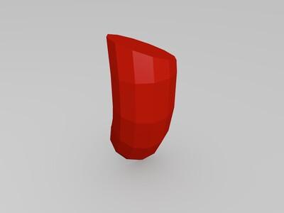 火影 宇智波团扇的链子-3d打印模型