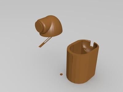 无脸男吃钱机-3d打印模型