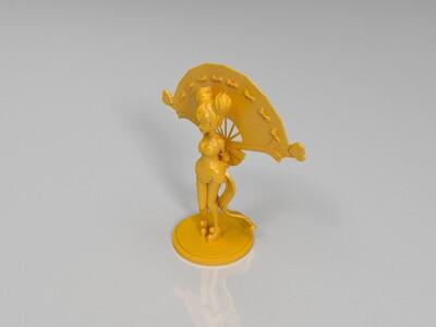 王者荣耀——小乔-3d打印模型