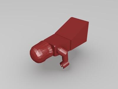 lego woman 2-3d打印模型