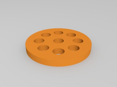 激光器镜座-3d打印模型