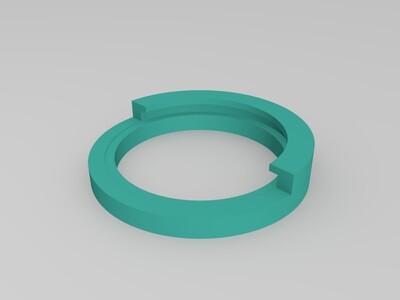激光器镜头-3d打印模型