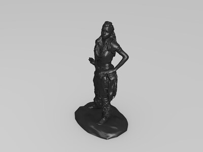 地平线:零之黎明女主-3d打印模型