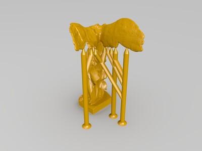 胜利女神-3d打印模型