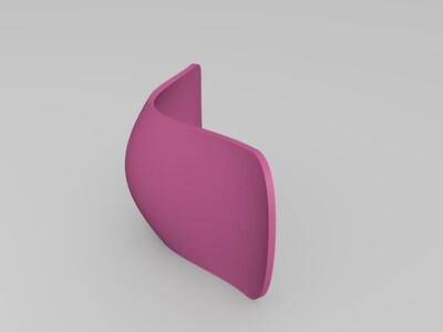椅子座-3d打印模型