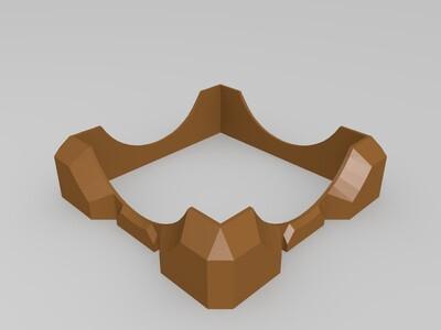 拼接盒子-3d打印模型