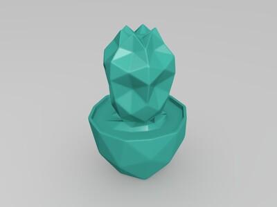仙人掌-3d打印模型