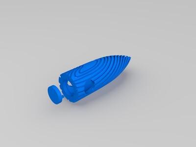 战狼2项链-3d打印模型