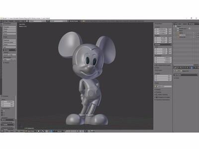 米老鼠-3d打印模型