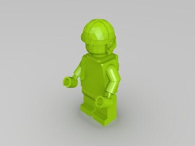 legoman new-3d打印模型