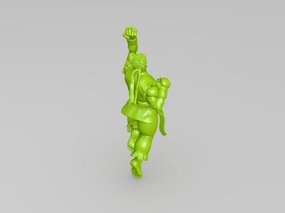 《街霸》 隆  Ryu   リュウ-3d打印模型