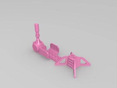 重型机枪-3d打印模型
