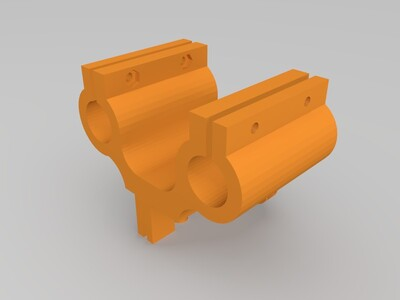 鱼眼滑车-3d打印模型